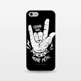 iPhone 5/5E/5s  Stand for Heavy Metal by Afif Quilimo