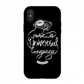 Music is Universal Language of Mankind by Afif Quilimo (cool, awesome, music, musics, musician, typo, typography, typographic, text, type, quote, quotes, say,cassette,rock,rocker,metal)