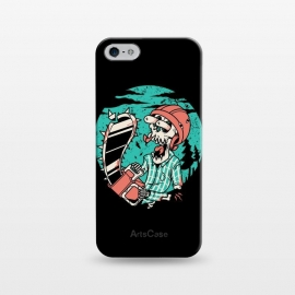 iPhone 5/5E/5s  Skullchainsaw by Afif Quilimo