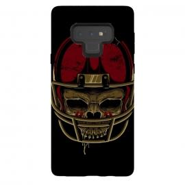 Galaxy Note 9  American Football Skull by