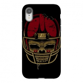 iPhone Xr  American Football Skull by Afif Quilimo