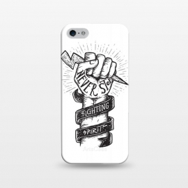 iPhone 5/5E/5s  Never Stop Fighting Spirit by Afif Quilimo