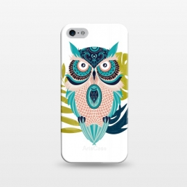 iPhone 5/5E/5s  Moon Eyed Owl by Uma Prabhakar Gokhale