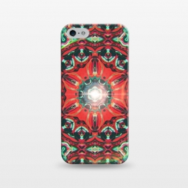 iPhone 5/5E/5s  Abstract Mandala I by Art Design Works