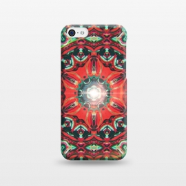 iPhone 5C  Abstract Mandala I by Art Design Works