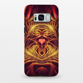 Galaxy S8+  Fractal Heart by Art Design Works