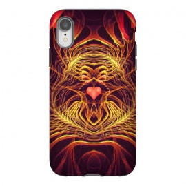 iPhone Xr  Fractal Heart by Art Design Works