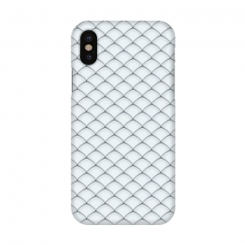 iPhone X  Fish Scale Pattern by Art Design Works