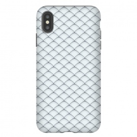 iPhone Xs Max  Fish Scale Pattern by Art Design Works