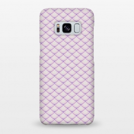 Galaxy S8+  Pink Fish Scale Pattern by Art Design Works