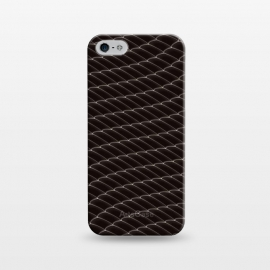 iPhone 5/5E/5s  Black Snake Scale Pattern by Art Design Works