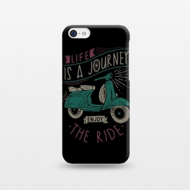 iPhone 5C  Life is a journey, enjoy the ride by Afif Quilimo