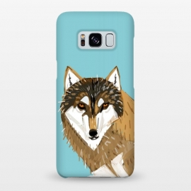 Galaxy S8+  European gry wolf by Belette Le Pink