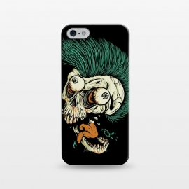 iPhone 5/5E/5s  Skull Punk Style by Afif Quilimo