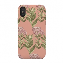 iPhone Xs / X  Blush Pink Flowers by Zala Farah