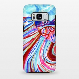 Galaxy S8+  Abstract Rainbow Mountains  by Tigatiga
