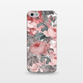 iPhone 5/5E/5s  Victorian Blush Roses by Utart