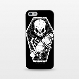 iPhone 5/5E/5s  Skull Until the End by Afif Quilimo