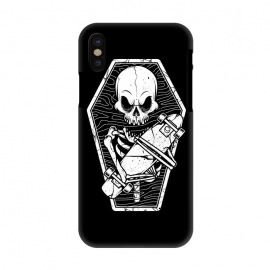 iPhone X  Skull Until the End by Afif Quilimo
