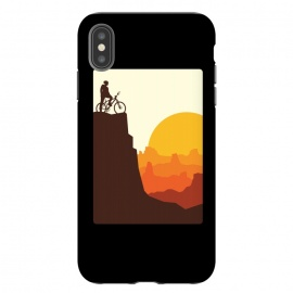 iPhone Xs Max  Mountain Biker by Afif Quilimo