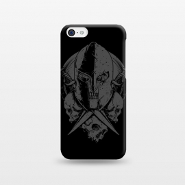 iPhone 5C  Skull Spartan by Afif Quilimo
