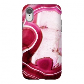 Vibrant pink agate marble by Oana