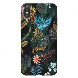 iPhone Xs Max  botanical and animal by ynsalkn design studio