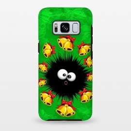 Galaxy S8+  Fuzzy Funny Christmas Sea Urchin Character by BluedarkArt