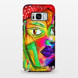 Galaxy S8 plus  The girl with red hat by