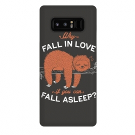 Galaxy Note 8  Why Fall in Love if You Can Fall Asleep? by eduely
