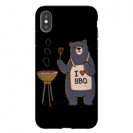 iPhone Xs Max  I Love BBQ by eduely