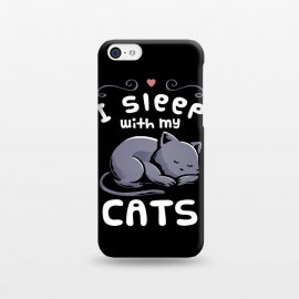 iPhone 5C  I Sleep With My Cats by eduely