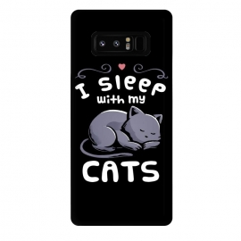 Galaxy Note 8  I Sleep With My Cats by eduely