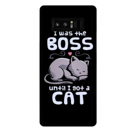 Galaxy Note 8  I Was the Boss Until I Got a Cat by eduely