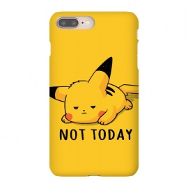Pikachu Not Today by eduely