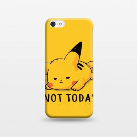 iPhone 5C  Pikachu Not Today by eduely
