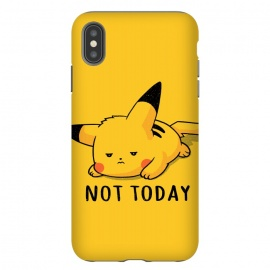 iPhone Xs Max  Pikachu Not Today by eduely