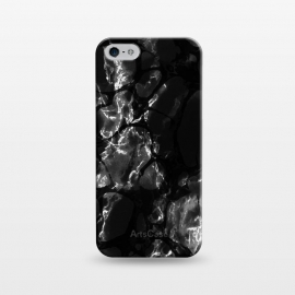 iPhone 5/5E/5s  Black marble surface by Oana