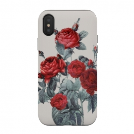 iPhone Xs / X  Minimal Redpassion by ''CVogiatzi. (cv, cvogiatzi, new, decor, design, Drawing, Digital, Pattern, Pastel, Gold, Nature, Flowers, Flower, Rose, Vintage, roses, rose, flowers, flower, minimal, optimistic, best, life, vibes, top, plants, botanical, boho, bohemia, grey, minimalism,red)
