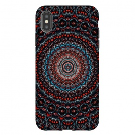 iPhone Xs Max  Abstract Mandala by Art Design Works