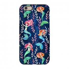 iPhone 6/6s  Little Merry Mermaids by Micklyn Le Feuvre