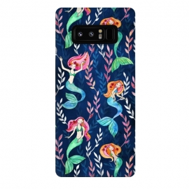 Galaxy Note 8  Little Merry Mermaids by