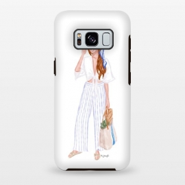 Galaxy S8 plus  Market Girl - Red by