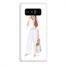 Galaxy Note 8  Market Girl - Red by