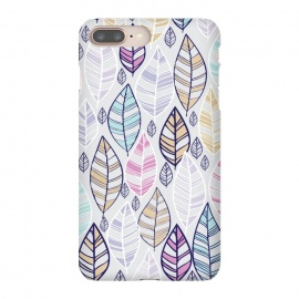 iPhone 8/7 plus  colored feathers by  (leaves,colored ,white,colors,boho)