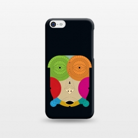 iPhone 5C  masque tribal by TMSarts