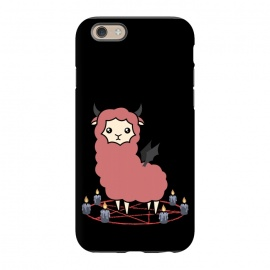 iPhone 6/6s  Llama demon by Laura Nagel