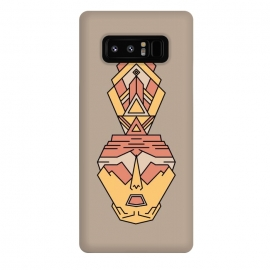 Galaxy Note 8  human aztec by TMSarts