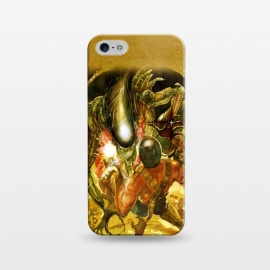 iPhone 5/5E/5s  Aliens and War by Max LeTamis