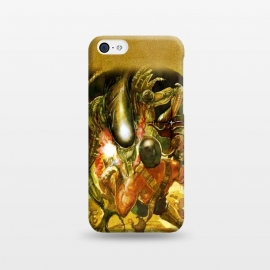 iPhone 5C  Aliens and War by Max LeTamis